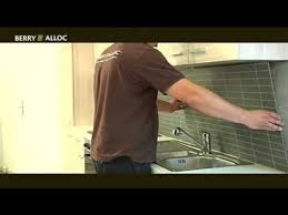 berryalloc installation video kitchen wall english youtube