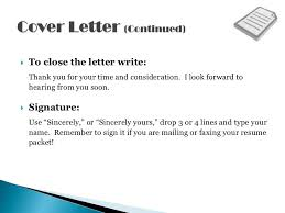 i look forward to hearing from you cover letter the best letter