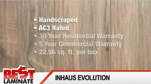 Laminate Floor Reviews Inhaus Evolutions Laminate Floor Reviews Youtube