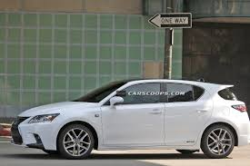 lexus ct200h scoop spindle grille 2014 lexus ct 200h f sport caught without camo