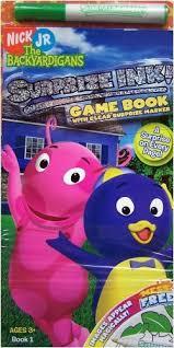 nick jr backyardigans surprise ink game book clear