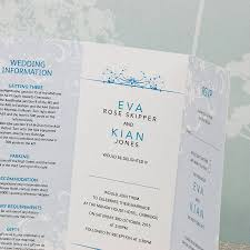 tri fold invitation template smile three fold wedding invitation by wedding print