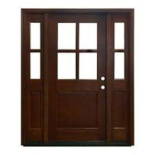 Frosted Glass Exterior Doors by Doors With Glass Wood Doors The Home Depot
