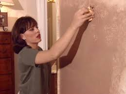 how to paint faux leather walls how tos diy step 3