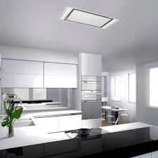 plafond de cuisine design hotte de cuisine plafond avec clairage int gr nitro newsindo co