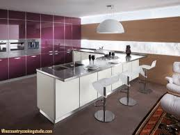 modular kitchen cabinets large modern l shaped eat in kitchen