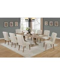 9 piece dining table set amazing deal on gracie oaks denville 9 piece dining set