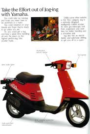 yamaha jog ad u0026 brochure scans motor scooter guide