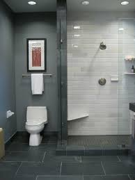 grey and white bathroom tile ideas 35 amazing masculine bathroom ideas standing shower sliding