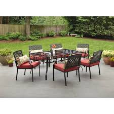7pc Patio Dining Set 7 Pc Patio Dining Set Outdoor Decorating Inspiration 2018