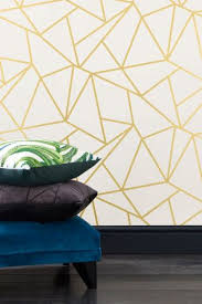 Online Get Cheap Gold Kitchen by Buy Gold Detail Geometric Wallpaper Online Today At Next Israel
