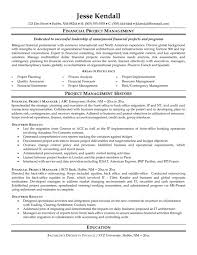 Pmp Resume Examples by Impressive Areas Of Excellence Financial For Project Manager