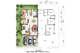 single storey semi detached house floor plan wonderful single storey semi detached house floor plan photos best