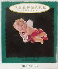 hallmark melodic cherub miniature ornament qxm4066 ebay