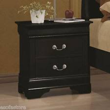 bedside stand coaster 203962 louis philippe 2 drawer night stand ebay