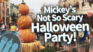 mickey u0027s not so scary halloween party 2017 everything you need