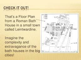 Baths Of Caracalla Floor Plan Extravagant Roman Bath Houses