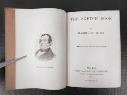 antique 1915 book by washington irving the sketch book new york