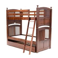 Bunk Beds With Trundle Bed Stanley Bunk Beds With Trundle Bed Ebth