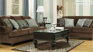 Chocolate Living Room Set Chocolate Living Room Collection From Signature Design By