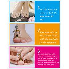 3pcs ingrown toe nail fixer pedicure toenail recover correction