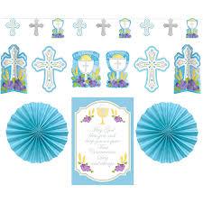 communion decorations kit decorating communion blue by amscan toys
