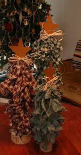 diy rag trees these are made out of dowels to desired length