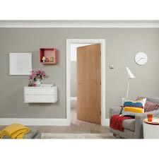 Flush Interior Door by Jeld Wen Standard Core White Oak Veneer Flush Internal Door U2013 Next