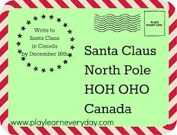 santa claus letters writing letters to santa around the world play and learn every day