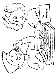 mothers day coloring pages coloring lab