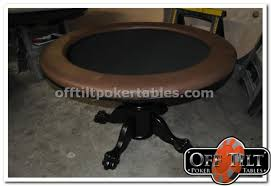 octagon round rectangular styles offtilt poker tables