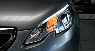 2014 new peugeot 2008 facelift led front scheinwerfer light