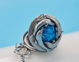 unique dolphin gifts dolphin locket etsy