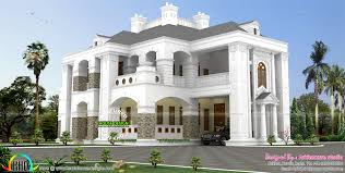 5 bhk colonial style house architecture kerala home design and