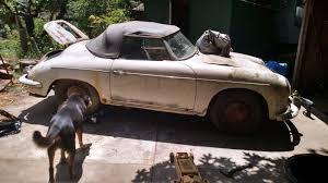 porsche 356 cabriolet 356 barn finds