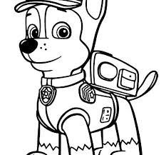 print paw patrol coloring pages pictures colour