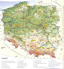 Large Map Of The World Poland Maps Printable Maps Of Poland For Download