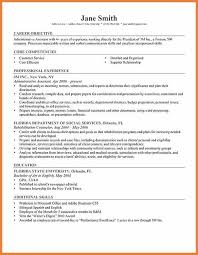 wording for resume objective 20 resume objective examples use