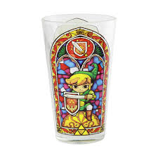 cartoon beer pint the legend of zelda wind waker pint glass for collectibles gamestop