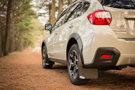 lifted subaru xv rokblokz subaru xv crosstrek 2013 2017 rally mud flaps