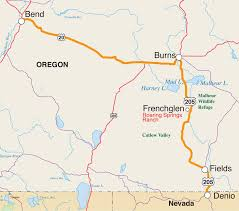 map of oregon 2 oregon s highway 205 the beaten track thunder press