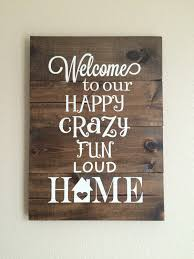 Welcome Home Decor Welcome Sign Wood Sign Pallet Sign Welcome To Our Home Hand