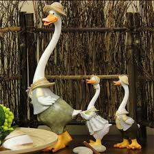 Duck Home Decor Kawaii Home Decoration Gifts Duck Crafts Ducking Ornaments Rural