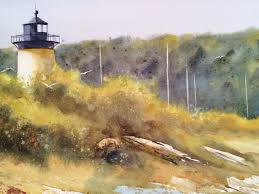 creating a watercolor cape cod landscape nancy motley walton