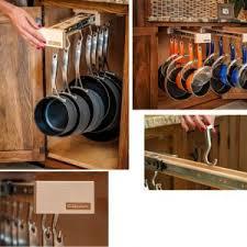 kitchen pan storage ideas decor cookware ideas and pots and pans rack for kitchen storage ideas