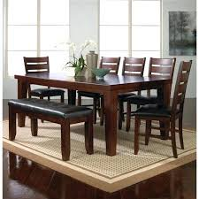 bench style dining tables full size of country dining table with
