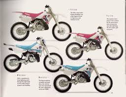 brochures and magazine articles yamaha wr500