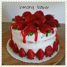 father u0027s day cake strawberry filled cake youtube