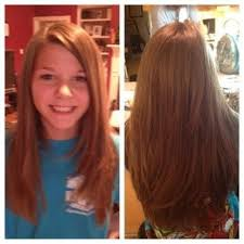 great tween layered hairstyle for long hair shelley best