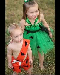 Pebbles Halloween Costume Toddler 39 Flintstone Tasting Party Ideas Images
